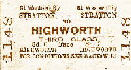 Highworth Branch History and timetables